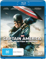 Captain America : The Winter Soldier (3D Blu-ray) - Chris Evans