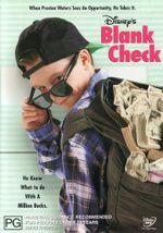 Blank Check - Brian Bonsall