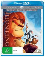The Lion King Diamond Edition (3D Blu-ray/Blu-ray/Digital Copy) - Niketa Calame