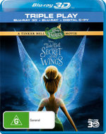 Tinker Bell and the Secret of the Wings (3D Blu-ray/Blu-ray/Digital Copy) (3 Discs) - Raven Symone
