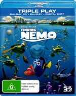 Finding Nemo (3D Blu-ray/Blu-ray/Digital Copy) (3 Discs) - Albert Brooks