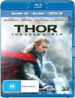Thor : The Dark World (3D Blu-ray/Blu-ray/Ditial Copy) - Chris Hemsworth
