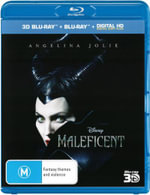 Maleficent (3D Blu-ray/Blu-ray/DC) - Angelina Jolie