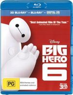 Big Hero 6 : 3D Blu-ray / Blu-ray / Digital Copy - Ryan Potter