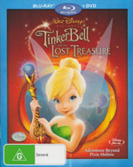 Tinker Bell and the Lost Treasure (Blu-Ray/DVD) - Raven-Symone