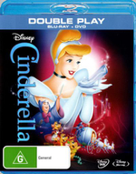 Cinderella (Blu-ray/DVD) - Ilene Woods