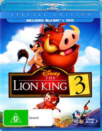 The Lion King 3 (Blu-Ray/DVD) (Special Edition) - Voiced Nathan Lane