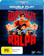 Wreck It Ralph (Blu-ray/DVD) (2 Discs) - John C Reilly