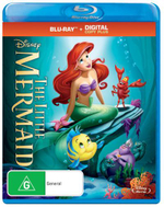 The Little Mermaid (Blu-ray/Digital Copy) - Will Ryan