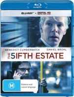 The Fifth Estate (Blu-ray/Digital Copy) - Benedict Cumberbatch