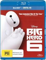 Big Hero 6  : Blu-ray / Digital Copy - Ryan Potter
