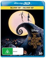 The Nightmare Before Christmas  : 3D Blu-ray/Blu-ray - William Hickey