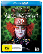 Alice In Wonderland (2010) (3D Blu-ray/Blu-ray) - Helena Bonham Carter