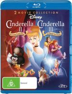 Cinderella II : Dreams Come True / Cinderella III: A Twist In Time (1 Disc) - Susanne Blakeslee