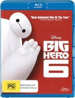 Big Hero 6 : Blu-ray - Ryan Potter