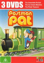 Postman Pat : The Greendale Rocket / The Ice Cream Machine / The Pirate Treasure