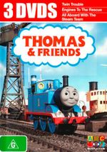 Thomas & Friends : Twin Trouble / Engines to the Rescue / All Aboard with the Steam Team