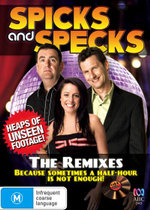 Spicks and Specks : The Remixes : Because Sometimes a Half-Hour is not Enough! - John Moloney