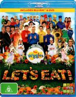 The Wiggles : Let's Eat (Blu-ray/DVD) - Sam Moran
