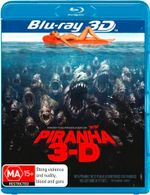 Piranha (3D Blu-ray) (2 Disc) - Riley Steele