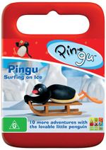 Pingu : Surfing on Ice