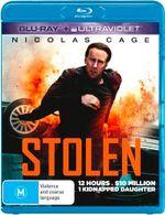 Stolen (Blu-ray/UltraViolet) - Nicolas Cage