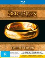 The Lord of the Rings : Trilogy (Extended Editions) (15 Discs) - Elijah Wood