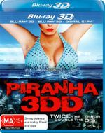 Piranha 3DD  : 3D Blu-ray/Blu-ray/Digital Copy (2 Discs) - Chris Zylka