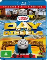 Thomas & Friends : Day of the Diesels - The Movie (Blu-ray/DVD) - Ringo Starr