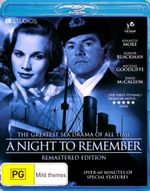 A Night to Remember - Ronald Allen