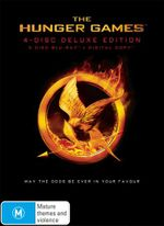 The Hunger Games (4 Disc Deluxe Edition) (Blu-ray/Digital Copy) - Jennifer Lawrence