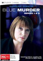 Blue Murder : Season 1 and 2 (3 Discs) - Nicholas Murchie