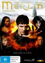 The Adventures of Merlin : Season 5 (5 Discs) - Colin Morgan