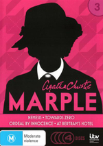 Agatha Christie's Marple : Series 3 - (Nemesis/Towards Zero/Ordeal by Innocence/At Bertrams Hotel) - Stephen Mangan