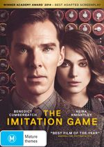 The Imitation Game (DVD/UV) - Benedict Cumberbatch