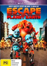 Escape From Planet Earth (DVD/UV) - Rob Corddry