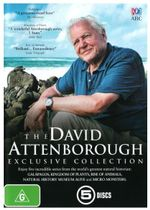 The David Attenborough Exclusive Collection : Galapagos / Kingdom of Plants / Rise of Animals / Natural History Museum Alive / Micro Monsters - Tim Cragg
