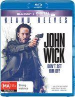 John Wick (Blu-ray/UV) - Keanu Reeves