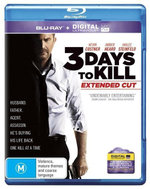 3 Days to Kill (Extended Cut) (Blu-ray/UV) - Kevin Costner