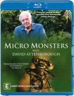 Micro Monsters with David Attenborough : Micro Monsters - David Attenborough
