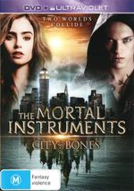 The Mortal Instruments : City of Bones (DVD/UV) - Lily Collins
