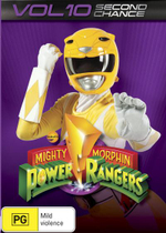 Mighty Morphin Power Rangers : Second Chance - Volume 10 - Walter Jones