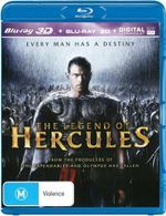 The Legend of Hercules : 3D Blu-ray/Blu-ray/UV - Kellan Lutz