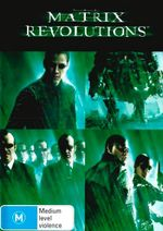 Matrix Revolutions (DVD/UV) - Zeke Castelli