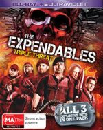 The Expendables 1 - 3 Triple Pack (Blu-ray/UV) - Liam Hemsworth