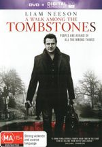 A Walk Among the Tombstones  : DVD + Digital Ultraviolet - Boyd Holbrook