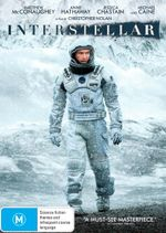 Interstellar (DVD/UV) - Matthew McConaughey