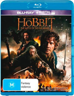 The Hobbit : The Battle of the Five Armies (Blu-ray/UV) - Martin Freeman