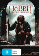 The Hobbit : The Battle of the Five Armies (DVD/UV) - Martin Freeman