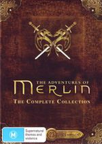 The Adventures of Merlin Complete Collection : Season 1-5